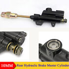 1PC 10MM Rear Brake Master Pump Cylinder for Chinese ATV Dirt Bike Motorcycle