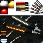 4pcs Motorcycle Flowing 24LED Turn Signal Flash Brake Indicator 10mm Thread