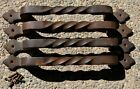 Vintage Reclaimed Hand Forged Wrought Iron Door Handles 13