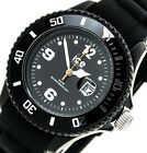 NEW $110 Ice-Watch Womens Sili Collection Black Watch SIBKSS09 BOX IMPERFECTIONS