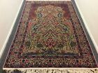 AUTHENTIC ANTIQUE PERSIAN  RUG TREE OF LIFE WITH BIRDS OF PARADISE