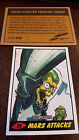 2014 TOPPS IDW LIMITED MARS ATTACKS REPRINT SKETCH TRADING CARD DAN DUNCAN # 75