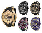 Invicta Men's Bolt Quartz Chronograph 100m Stainless Steel/Silicone Watch