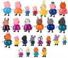 PEPPA PIG MINI FIGURE PACK PLAYSET CUTE TOY COLLECTION 4PC 10PC 21PC 25PC SET