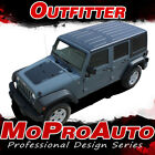 2011 Jeep Wrangler Outfitter Hood 3m Pro Vinyl Graphics Stripes Decals Wr38