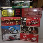 Lot of 9 Nascar 124 Scale Die cast Cars