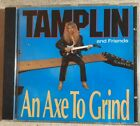 Ken Tamplin And Friends  An Axe To Grind CD  1990 Intense Records Frontline