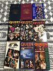 Lot of 9 VHS Tapes Queen concert we will rock you 80s Rock Classic Heavy Metal