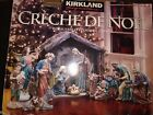 Kirkland Nativity Creche De Noel w crystal and gold details Complete
