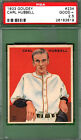 1933 GOUDEY CARL HUBBELL #234 PSA 2.5 New York GIANTS HOF!! (3819)