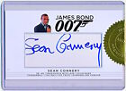 Rittenhouse James Bond 007 Sean Connery Cut Autograph Auto Signed - QTY AVAIL