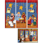 Banner Set Nativity Pageant Set of 3 Banners