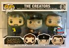 Funko POP! Game of Thrones The Creators 3 Pack 2018 Fall Convention Exclusive!