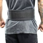 Last Punch 4 Nylon Power Weight Lifting Belt Back Support Belt Black