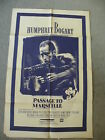 Humphrey Bogart in Passage to Marseille with Claude Rains poster 27X40194