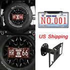 Durable Spare Tire License Plate Mount Bracket For Jeep Wrangler 97 18 TJ