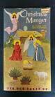 Golden Funtime Punch Books Christmas Manger Nativity 1959 Golden Press Punch Out