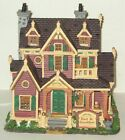 Lemax Vail Village Alpine Peak B & B Lighted Building With Box Christmas #HY21