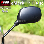 eMark KYMCO Caro Cobra Cross Cobra Racer 50 100 Scooter Mirrors GLASS LENS 8mm