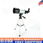 Black+Silver F30070M Telescope 90mm 354inches Refractor Set Kit New Adjustable