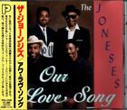 THE JONESES - Our Love Song (1992) Japan Only CD w/OBI rare OOP PCD-2334