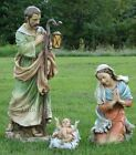 Josephs Studio 27 Scale Nativity Holy Family Full Color Stone Resin 39530 NIB