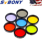 125Eyepiece Filter Set Color Filter+Moon Filter+CPL Filter for Telescope US