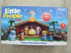 Fisher Price Little People Deluxe Christmas Story Nativity Set Brand New