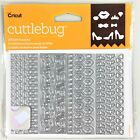 Cricut Cuttlebug Cut  Emboss Up Die Set All Girl Confetti Crown Shoes Bow Lips