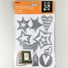 Cricut Cuttlebug Cut  Emboss Up Die Set Stars And Hearts Christmas Valentines