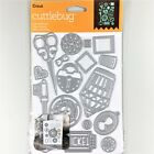 Cricut Cuttlebug Cut  Emboss Up Die Set Lost And Found Key Bird Cage Thimble