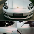 Bubbles Free Stretch Car Glossy Matte Pearl White Magic Vinyl Wrap Sticker Abus