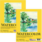 11 x 14 Watercolor Painting Paper Pad 140lb 12 Sheets Pack of 2