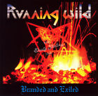 RUNNING WILD BRANDED AND EXILED CD in Jewel Case Album New Sealed
