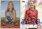 HOPE SOLO 2011 UPPER DECK OLYMPIC GOLD MEDAL WOMENS CHAMPION CARD WITH EXTRA