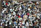 LOT OVER 6 LBS VTG SEWING CRAFT BUTTONS MIXED