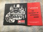 Instruction Booklet For Monogram 1/8 Scale Small Block Chevrolet