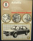 Alfa Romeo Owner's Workshop Manual for Alfetta GTV and Sedan - Autobooks 1975-79