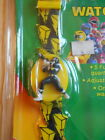 Power Rangers Vintage Quartz Watch Black Ranger 1993 New Sealed on Card
