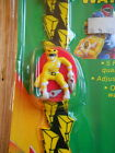 Power Rangers Vintage Quartz Watch Yellow Ranger 1993 New Sealed on Card