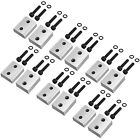 6 Sets Replacement Jaw Blades for 5 8 Rebar Cutter Metal Rod Hydraulic