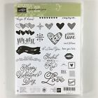 Stampin Up Sealed With Love Stamp Set Valentines Day Wedding Anniversary Hearts
