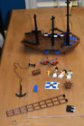 LEGO Pirate 6274 Caribbean Clipper Vintage Parts Anchor Ship Mast