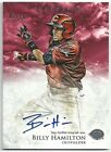 2013 Bowman Inception BILLY HAMILTON Prospect RC On-Card Auto RED #07 10