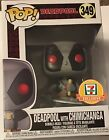 Funko Pop! Deadpool With Chimichanga 7-11 7 Eleven Exclusive #349 W Protector