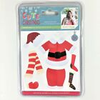 Crafters Companion Cute Christmas Santas Suit Die Set Holiday Card Making