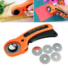Manual Rotary Cutter Blades Quilters Sewing Patchwork Fabric 45mm Craft Tool US