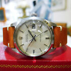 Mens Vintage ROLEX Oyster Date Precision 6694 Stainless Steel Watch Circa 1982