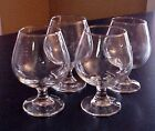 Libbey Brandy Snifter Glasses Barware Cocktail Drinking Set of 4 NICE