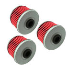 3x Car Engine Cleaner Fuel Oil Filter For Honda Kawasaki Suzuki DR-Z110 POLARIS